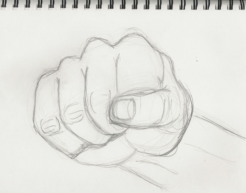 Draw design everyday week 5 hands for Something hard to draw